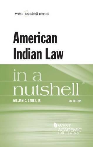 American Indian Law in a Nutshell (Nutshells)