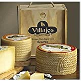 Villajos 'Reserva' Manchego Cheese in Wooden Box - 4 Pounds by La Tienda
