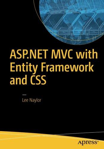ASP.NET MVC with Entity Framework and CSS by Apress