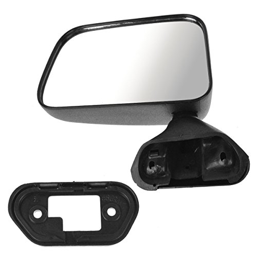 (Manual Door Mounted Mirror Left Driver Side Left LH for Toyota Pickup 4Runner)