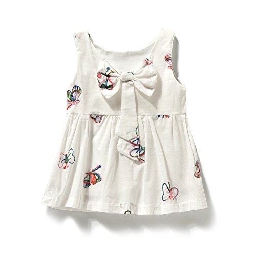 148de6bd4d5 Bebé sundresses verano vestidos para niñas 3-4-6-8-9-10 meses 0-1 años  vestido de bebe, 80cm (80cm.: Amazon.es: Ropa y accesorios