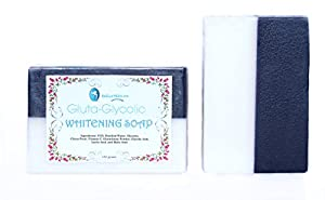 Glutathione Soap with Glycolic Acid Exfoliating Skin Lightening Bleaching Soap