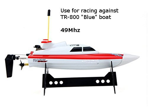 Top Race Remote Control Water Speed Boat Perfect Toy For Pools And Lakes Red Ebay