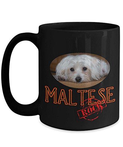 Maltese Rock! Ceramic Coffee Mug