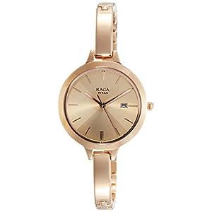Titan Raga Viva Analog Rose Gold Dial Women's Watch NM2578WM01 / NL2578WM01