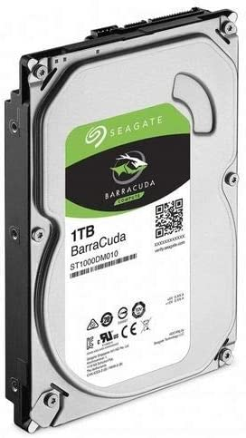 ST1000DM010 Frustration Free Packaging Seagate BarraCuda Internal Hard Drive 1TB SATA 6Gb//s 64MB Cache 3.5-Inch