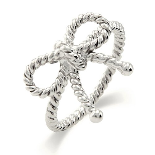 Silver Twisted Ribbon - 5