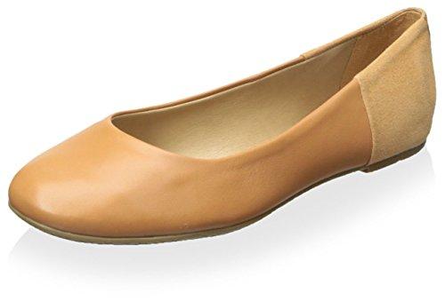 TKEES Women's Ballerina Flat Toasted Cashew Ym7IsN8h84