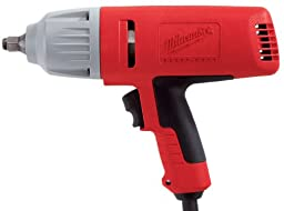 Milwaukee 9071-20 1/2-Inch Impact Wrench with Rocker Switch and Friction Ring Socket Retention