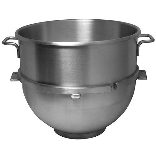 Vollum 80-Quart Commercial Stainless Steel Mixing Bowl for Hobart Mixer - Hobart Equivalent ()