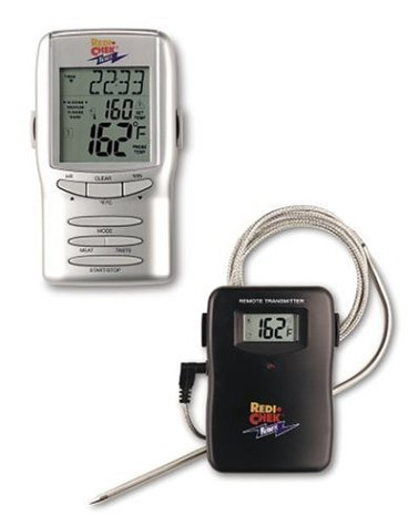 RediCheck Remote Cooking Thermometer w/Taste Settings (Cardinal Thermometer Clock)