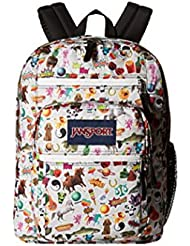 JANSPORT BIG STUDENT LARGE BACKPACK - MULTI STICKERS Limited Edition