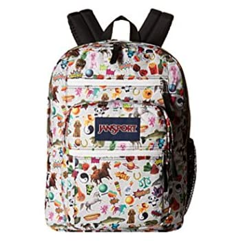 Amazon.com: JANSPORT BIG STUDENT LARGE BACKPACK MULTI STICKERS ...