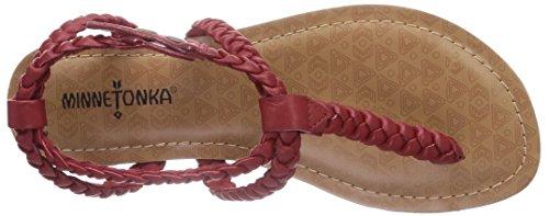 Minnetonka Liberty - Zapatos Mujer Rot (Red / Red)