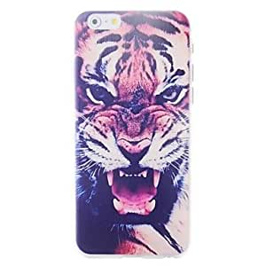 JOE Cartoon Tigers Pattern Embossment Back Case for iPhone 6