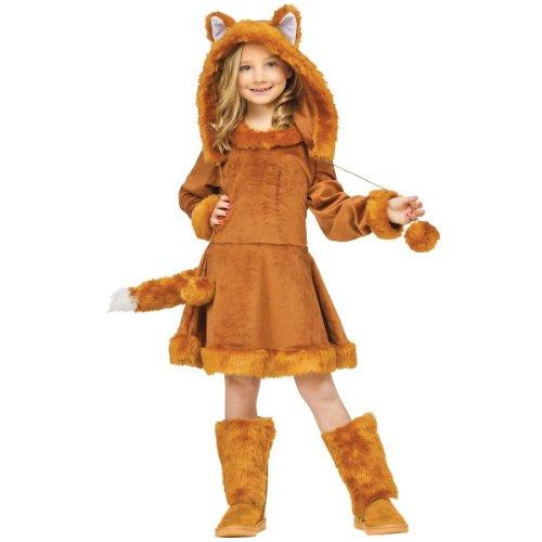 Sweet Couples Costumes - Fun World Sweet Fox Costume, Medium