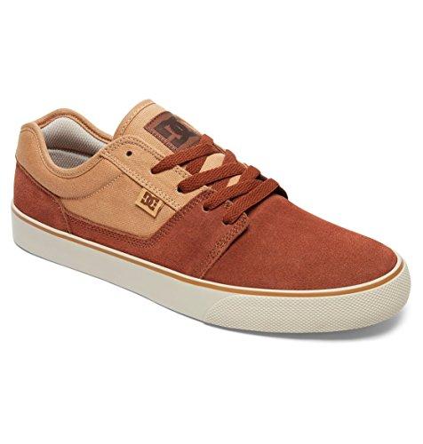 DC TONIK hombre Zapatillas de SHOE Tobacco Shoes D0302905 ante para q4qwTUF1