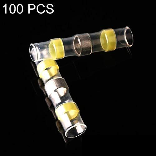 100 STÜCKE STÜCKE STÜCKE Dichtung Wärmeschrumpfstoßdrahtverbinder Gelb Letzte Lötmuffe 4-6mm B07PDFRPF8 | Ruf zuerst  93a532
