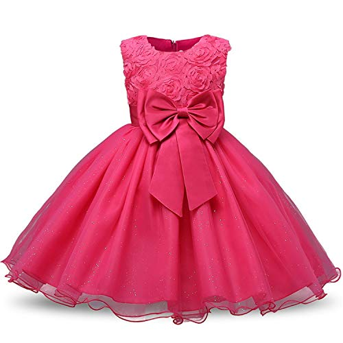 Princess Flower Girl Dress Summer Wedding Birthday Party Dresses for Girls Children's Costume Teenager Prom Designs,C5M,6 ()