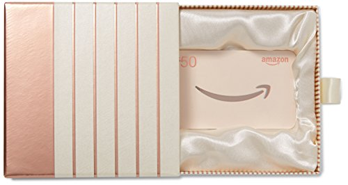 Amazon Com  50 Gift Card In A Premium Gift Box  Rose Gold