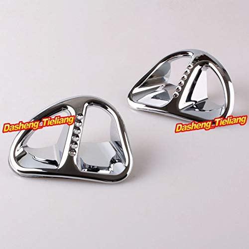 Alina-Shops - For Honda Goldwing GL1800 Fairing Martini Air Intake Grills 2001-2011 Decoration Bokykits Chrome ()