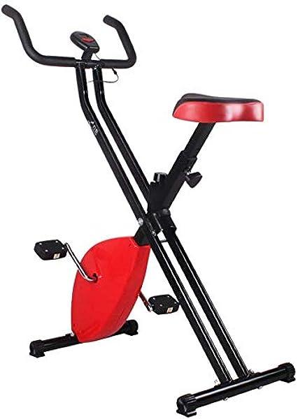 LSYOA Plegable Bicicleta Estática, Compacta Plegable Bicicleta ...