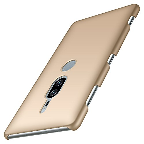 Anccer Sony Xperia XZ2 Premium Case [Colorful Series] [Ultra-Thin] [Anti-Drop] Premium Material Slim Full Protection Cover For Sony Xperia XZ2 Premium 2018 (Not for Xperia XZ2) - Gold