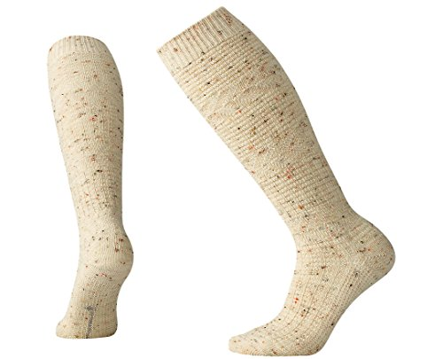 Smartwool Women's Wheat Fields Knee Highs Natural Heather Socks SM (Women's Shoe - Knee Smartwool Warmers