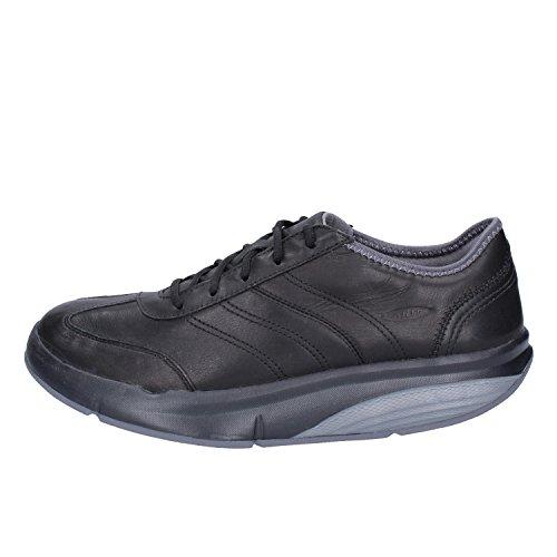 Eu 37 Negro Sneakers Cuero Mbt Mujer qz0wfOxa
