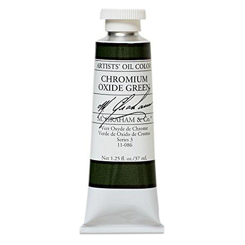 M. Graham & Co. Oil Paint, Chromium Oxide Green