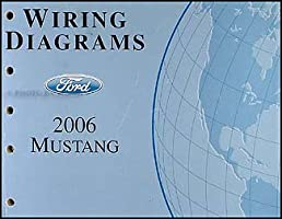 2006 ford mustang wiring diagram manual original amazon com books rh amazon com 2006 mustang ac wiring diagram 06 mustang radio wiring diagram