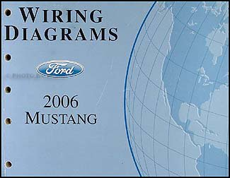2006 ford mustang wiring diagram manual original amazon com books 2006 mustang wiring diagram 06 mustang wiring diagram #3