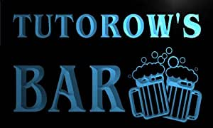 w135776-b TUTOROW Name Home Bar Pub Beer Mugs Cheers Neon Light Sign