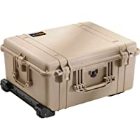 Pelican 1610 Camera Case With Foam (Desert Tan)