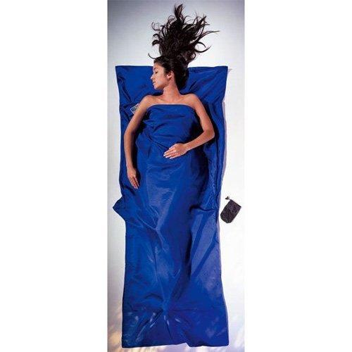 Cocoon(コクーン) トラベルシーツ シルク B005DKLU1U ブルー  ブルー