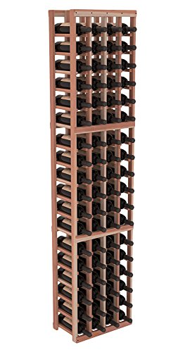 Wine Racks America Redwood 4 Column Wine Cellar Kit. 13 Stains to Choose From!