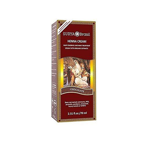 Surya Brasil Henna Hair Cream Chocolate Pack Of 4 by Surya Brasil