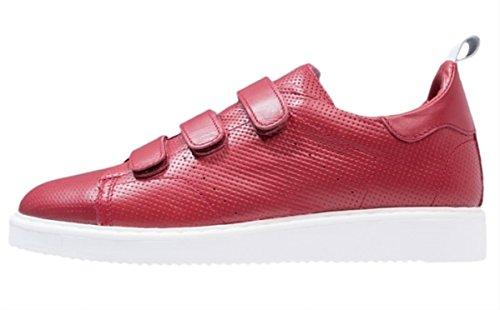 Antony Morato Rote Leder-Sneakers Größe 42