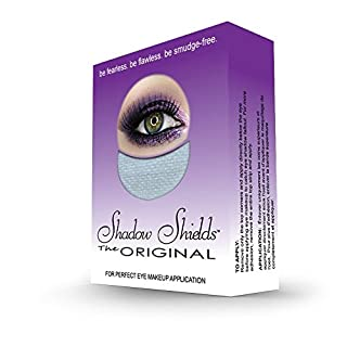Shadow Shields by Michelle Villanueva - 30 Count Box (1 Pack) | The Original Makeup Protection Shield. Be Fearless. Be Flawless. Be Smudge-Free.