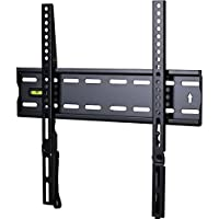 VideoSecu Ultra Slim TV Wall Mount for most 27-47 LCD LED Plasma TV, Some up to 55 Flat Panel Screen Display with VESA 100x100 200x100 200x200 300x200 400x300 400x400 1 Low Profile TV Bracket 1RX