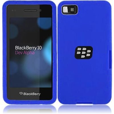 For Blackberry Z10 Silicone Skin Cover Case - ()