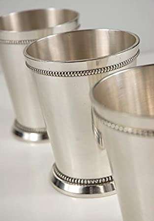 Richland Mint Julep Cups 4 Silver Plated Quick Candles 75864732338_01