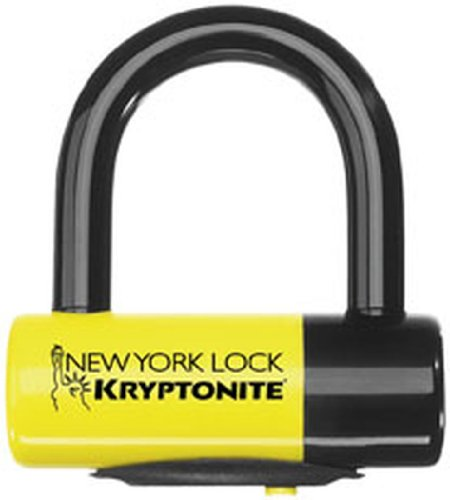 4. Kryptonite: New York Disc Lock Motorcycle Security/Lock, Yellow