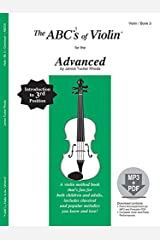 The ABCs of Violin for the Advanced, Book 3 (Book & MP3/PDF) Paperback
