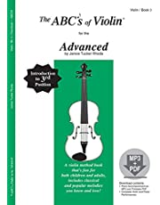 The ABCs of Violin for the Advanced, Book 3 (Book & CD)