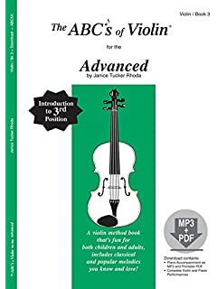 Amazon the abcs of violin for the absolute beginner book 1 the abcs of violin for the advanced book 3 book mp3pdf solutioingenieria Images