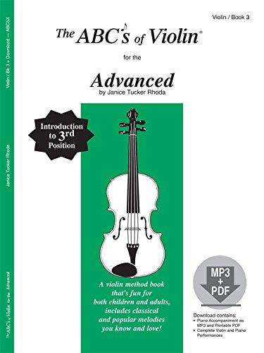 The ABCs of Violin for the Advanced, Book 3 (Book & MP3/PDF)