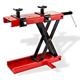 1100 Lbs Motorcycle Stand Lift Offroad Dirt Bike Steel Lifting Jack WIMMER