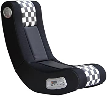 X Rocker Drift Wireless 2.1 Sound Gaming Chair (Black/White)