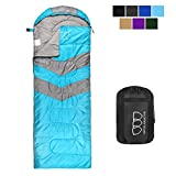 Gold Armour Sleeping Bag Camping Hiking Outdoor (Sky Blue/Gray)